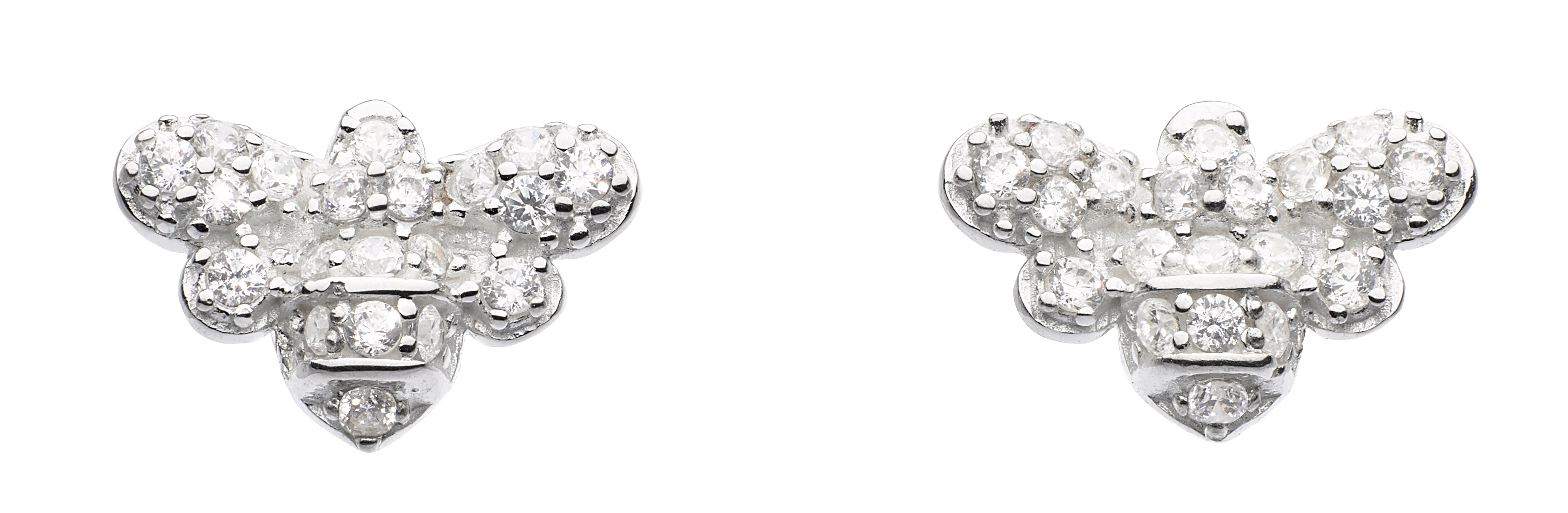 Dew Darling Bee Cubic Zirconia Stud Earrings