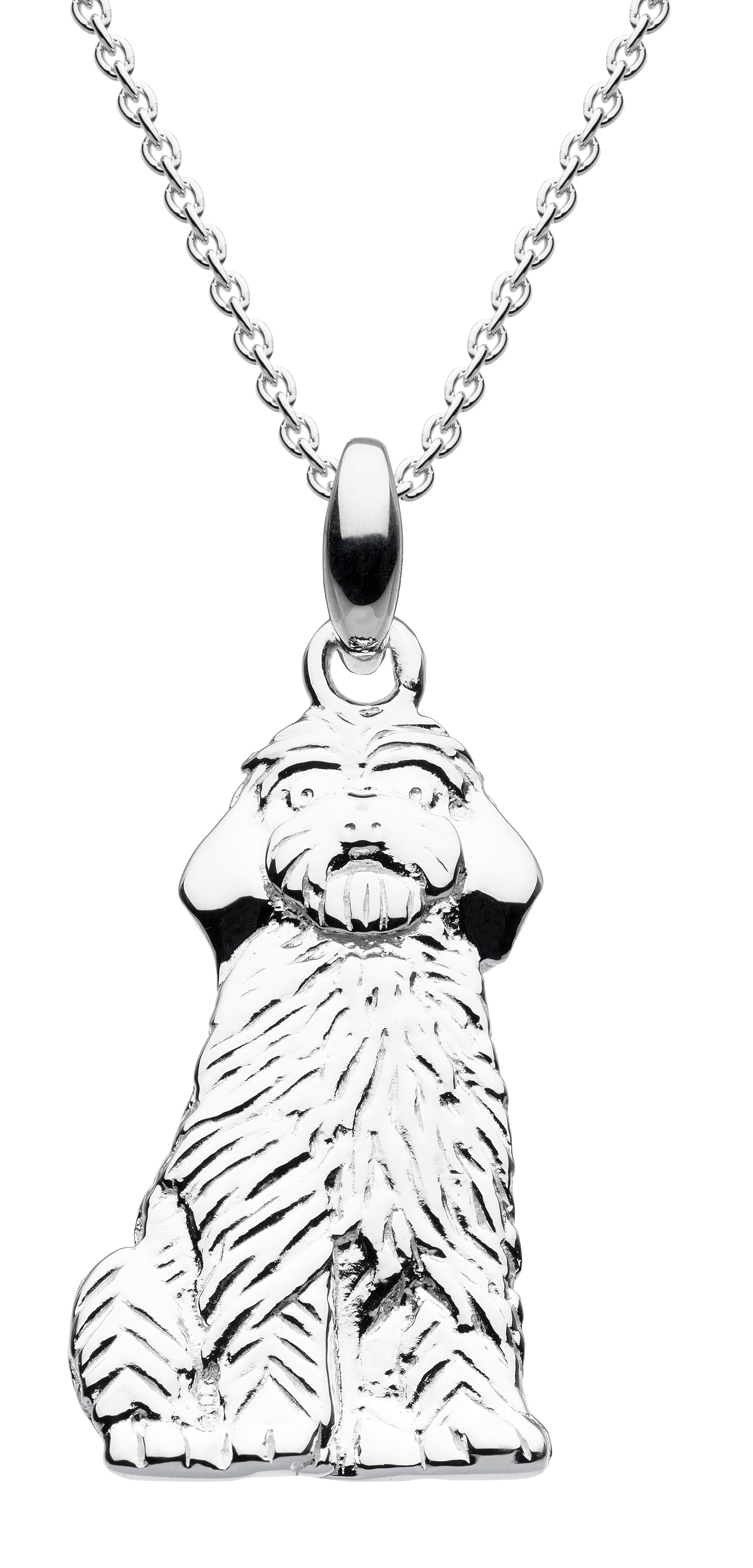Cockapoo pendant on chain