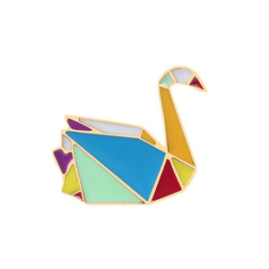 Origami Animal Enamel Pin - 9 designs available