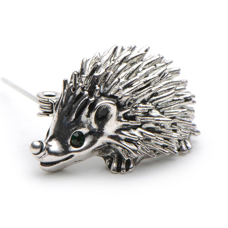 Cute Hedgehog Brooch