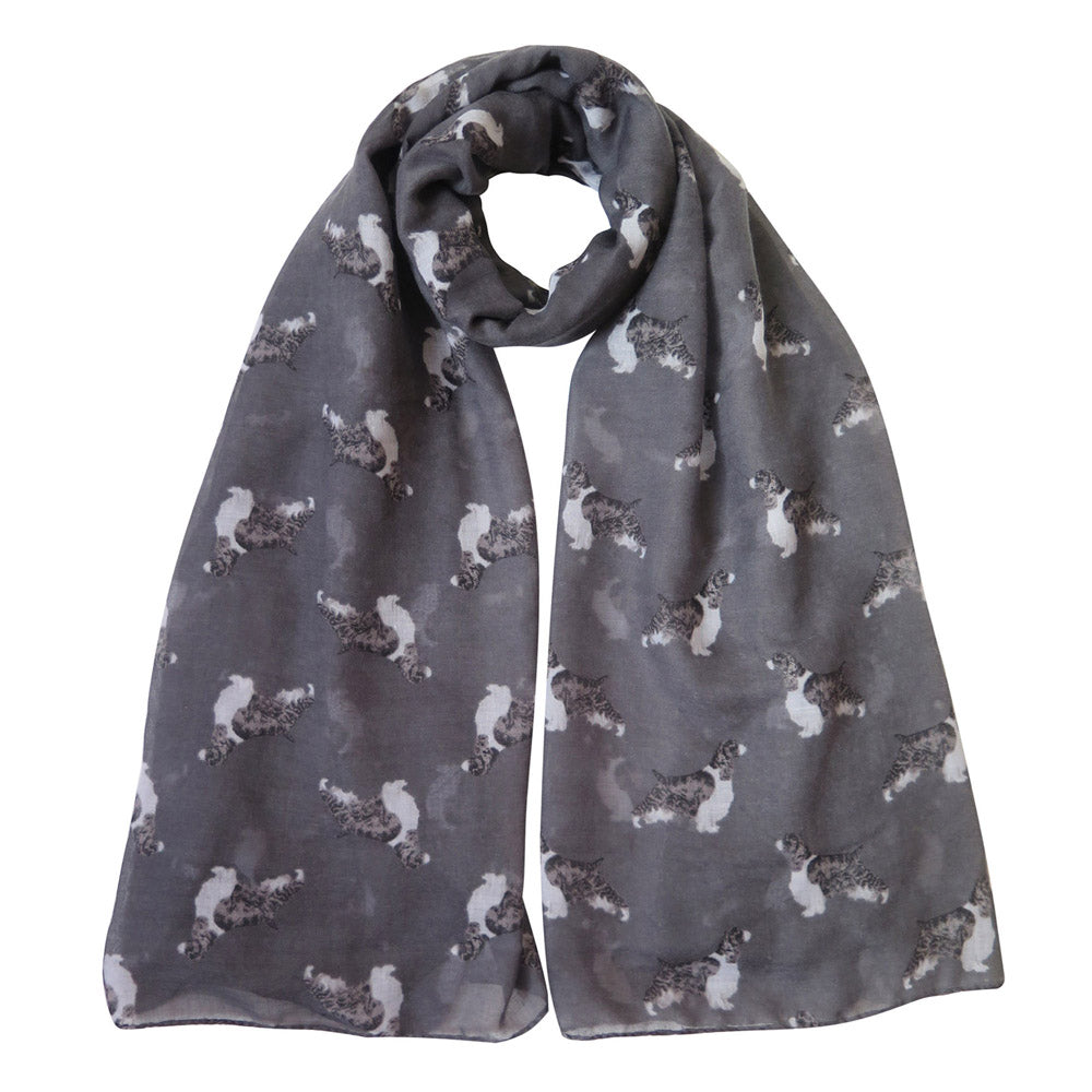 English Springer Spaniel  Print Women's Scarf