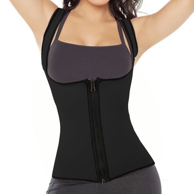 Neoprene Shapers Waist Trainer Corsets - moove4fitness