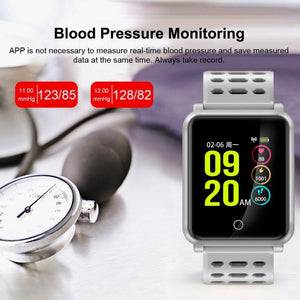 "TF2 Smart Watch 1.3"" Color Screen Blood Pressure Heart Rate Monitor Pedometer Bracelet IP68 Waterproof Sports Watch New - moove4fitness"