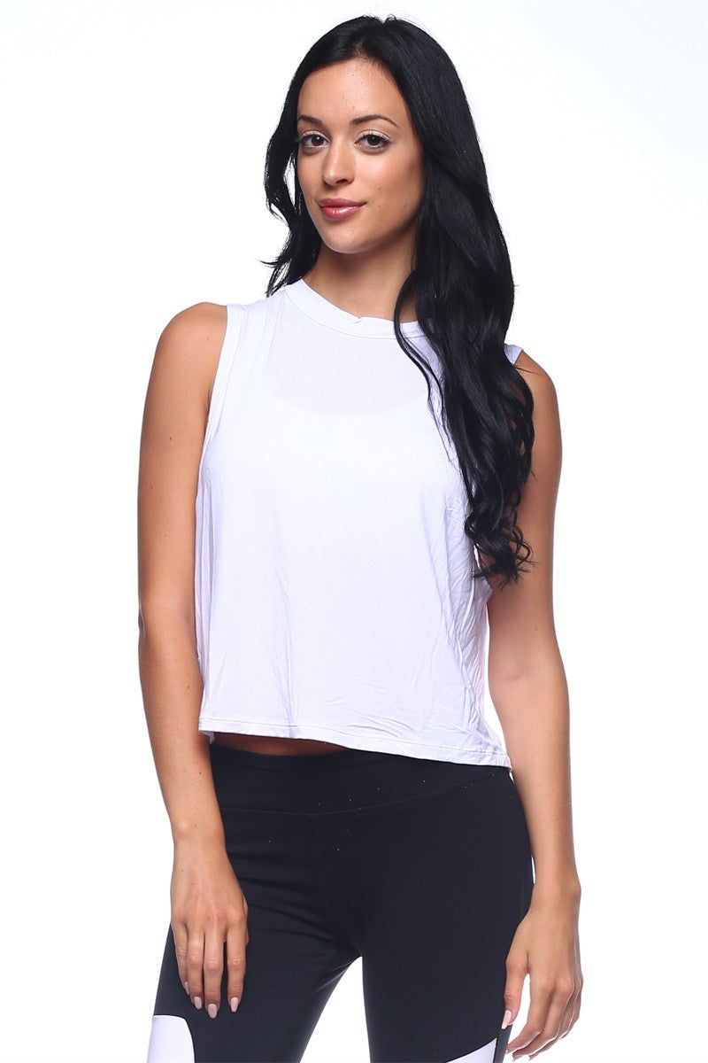 Womens flowy basic tank top