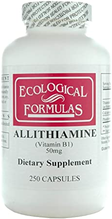 Allithiamine (Vitamin B1) 50 mg 250 Kapsler