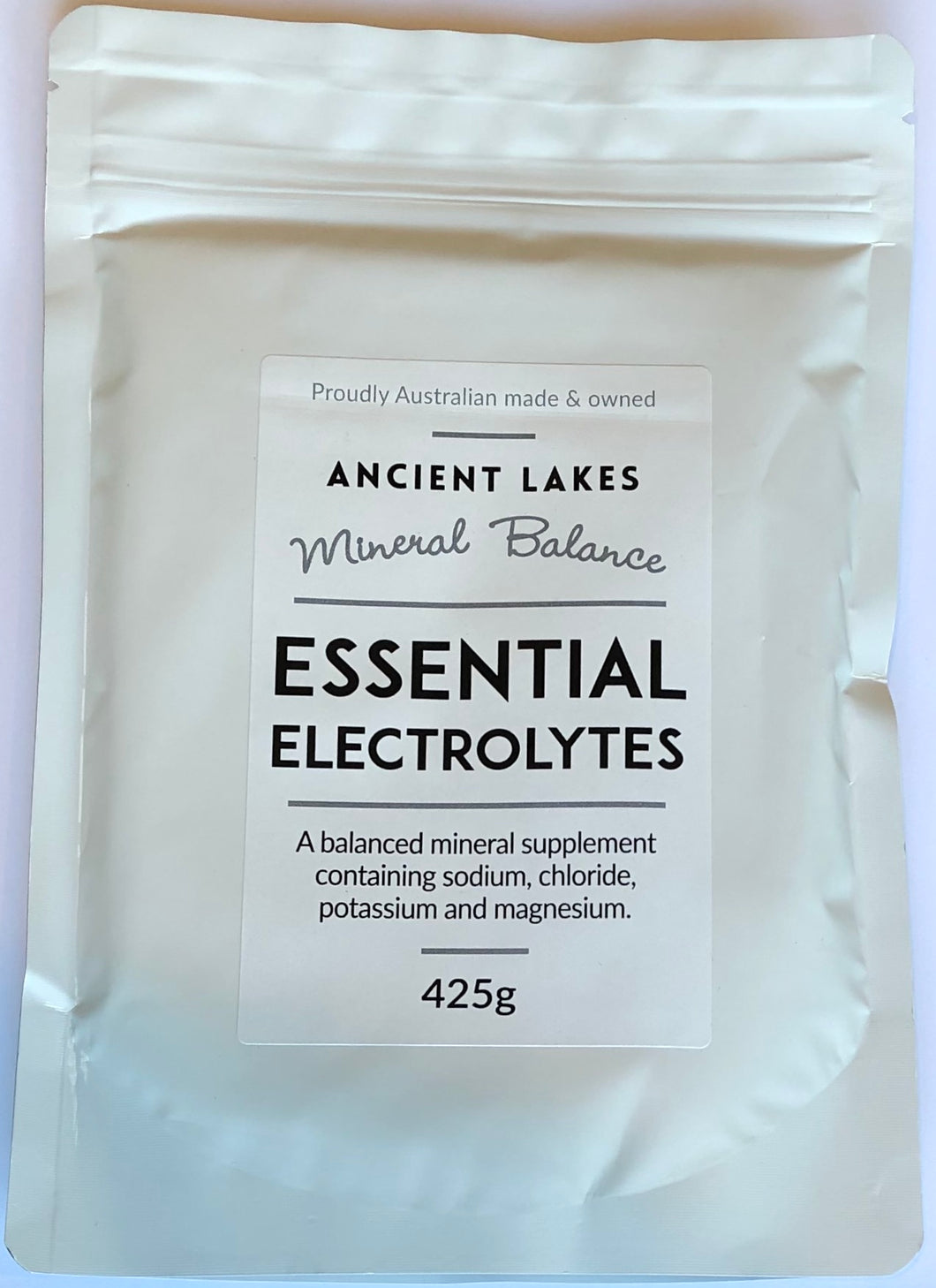 Ancient Lakes Elektrolytt Salt 425g