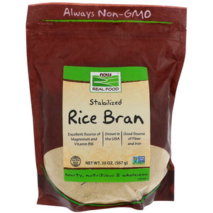 Now Foods Stabilisert Rice Bran 567g