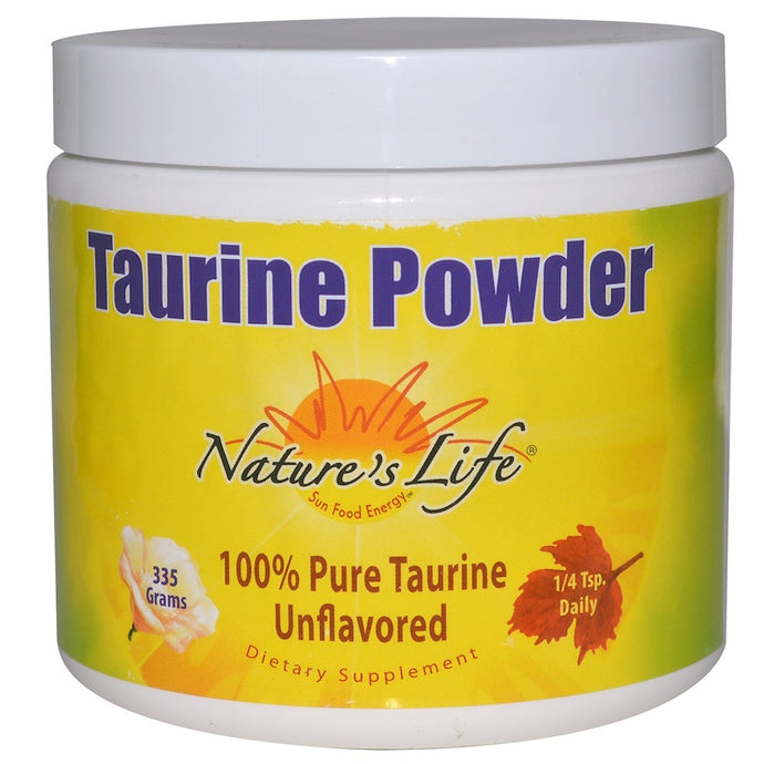 Nature's Life Taurin pulver 335 g