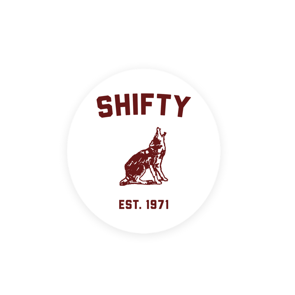 Shifty Sticker - Chris Shiflett