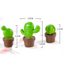 Load image into Gallery viewer, Cute Cactus Set Miniatures