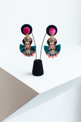 Frida Earrings Tropical