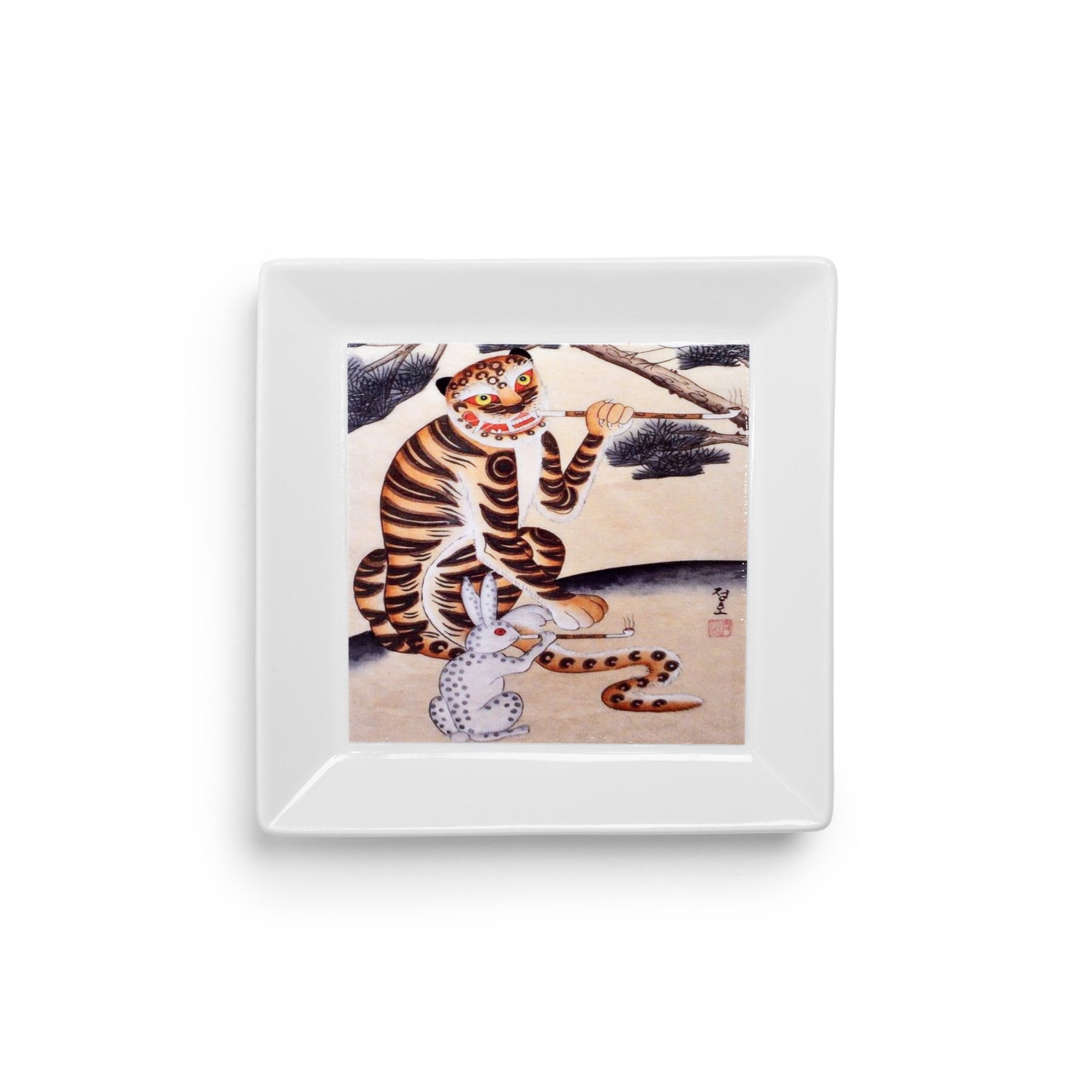 Rolling Tray - Smoking Tiger