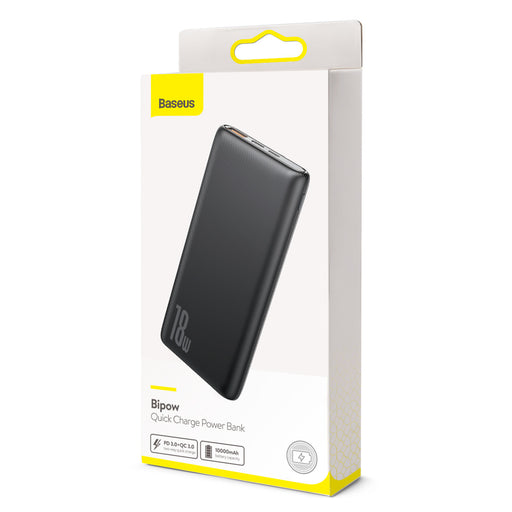 Power Bank Baseus Bipow PD+QC 10000mAh 18W Preto