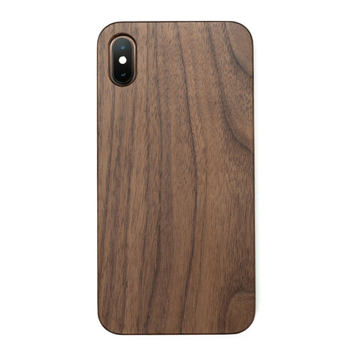 Capa iPhone  X/XS/XR/XS Max Clássica | Madeira Natural