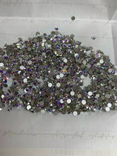 Load image into Gallery viewer, Flatback Rhinestones Crystal AB (SS3-SS48)