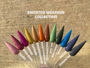 Sweater Weather Acrylic Powder Collection