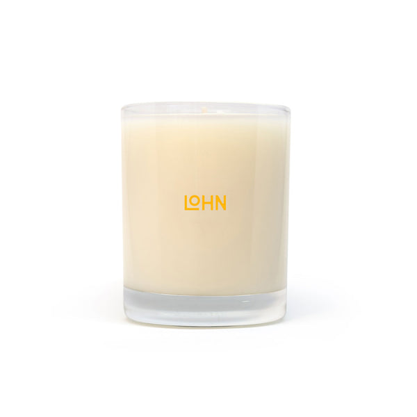 lohn feu oraganic coconut and soy wax hand poured candle