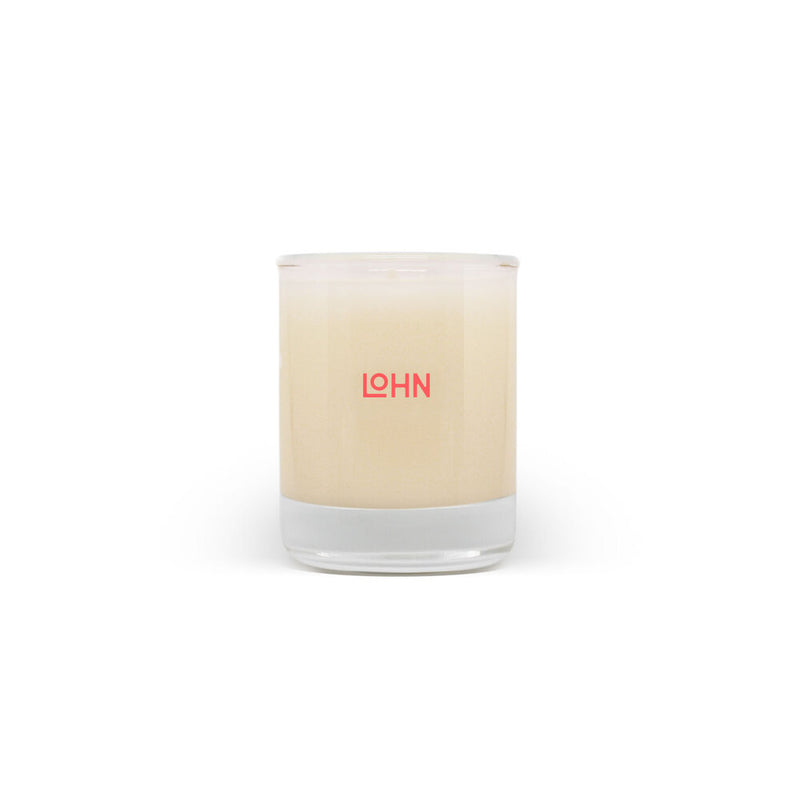 lohn jura oraganic coconut and soy wax hand poured candle