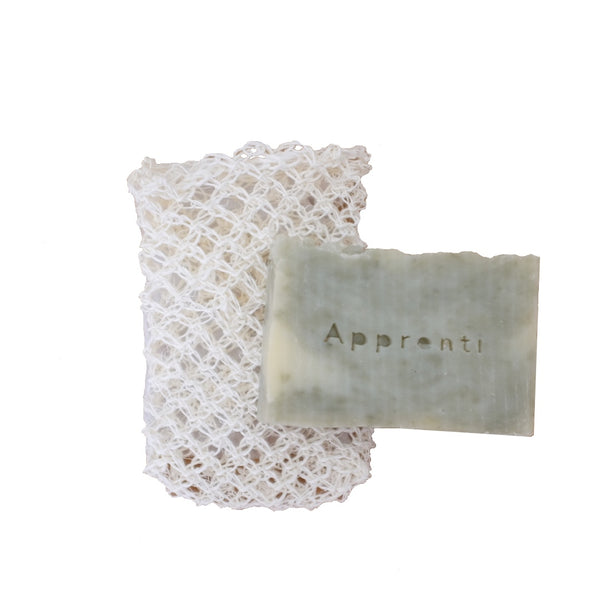 Sayula agave soap pouch with bar soap