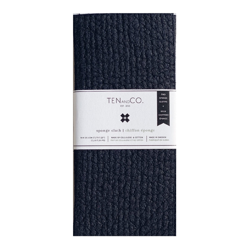 Sponge Cloth Midnight - 2 Pack