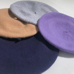 Colorful Wool Beret