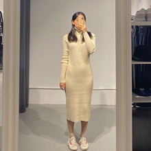 Load image into Gallery viewer, SOMI High Neck Knit Dress