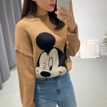 Load image into Gallery viewer, Mickey Wink Knit Top