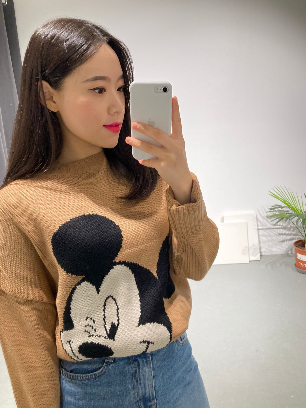 Mickey Wink Knit Top