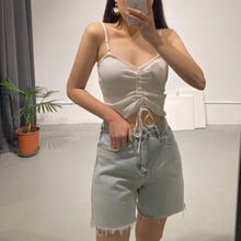 Load image into Gallery viewer, DAMI String Ribbed Cami
