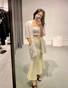YUNA Mermaid Maxi Skirt