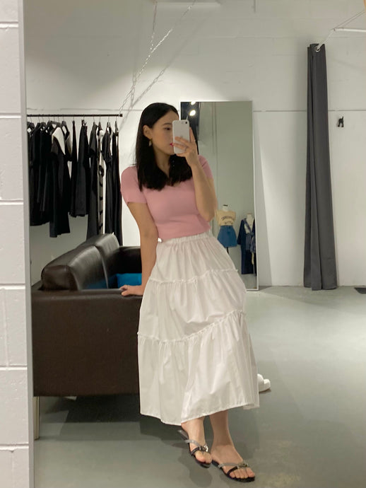 YUNA Smile Summer Long Skirt