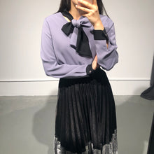 Load image into Gallery viewer, MARI Tie Blouse
