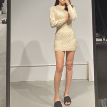 Load image into Gallery viewer, YURI Glam Knit Dress