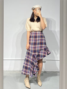 LUDA Asymmetric Skirt