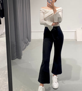 Byul Flare Lace-up Pants