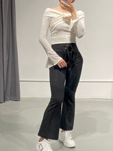 Load image into Gallery viewer, Byul Flare Lace-up Pants