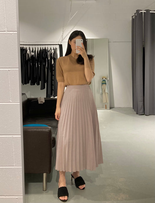 YOON Maxi Pleated Skirt