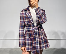 Load image into Gallery viewer, GINA Tartan Jacket
