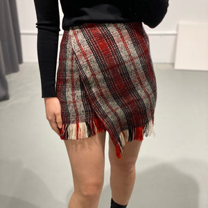 URI Asymmetric Mini Skirt