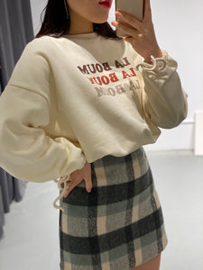 JIEN Crop Sweatshirt