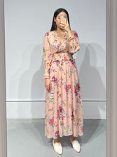 Load image into Gallery viewer, SANA Floral Long Dress