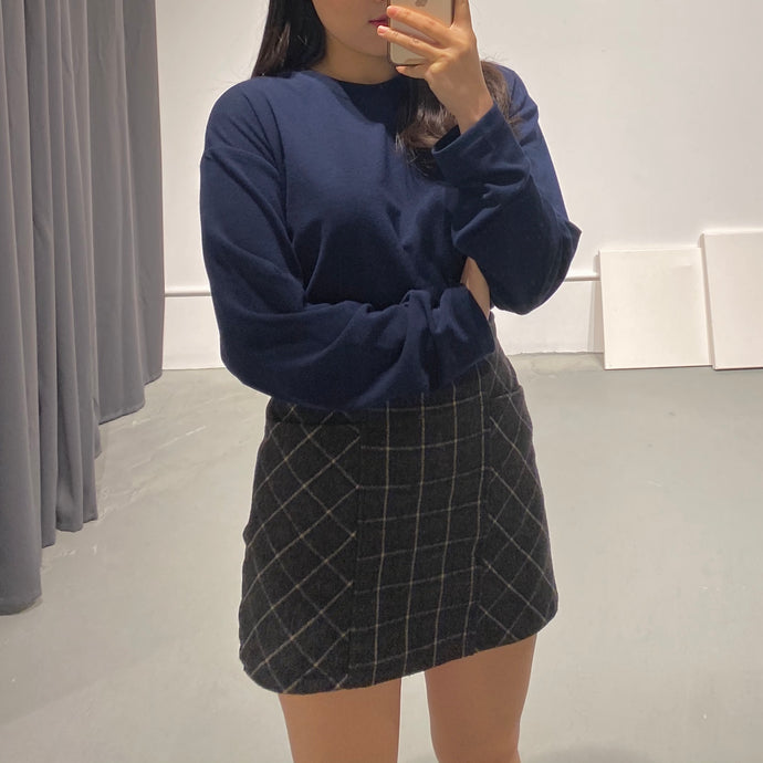 Rosee Check Skirt