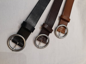 (Incoming Soon) Leather Ring Belt