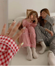 Load image into Gallery viewer, Gingham Pyjama Set