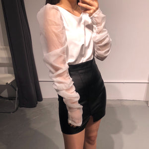 EVE Sheer Blouse