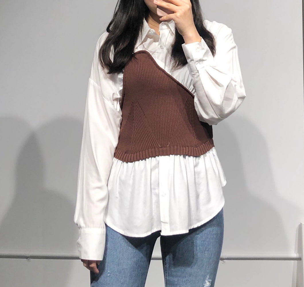 MOKA Knitted Blouse