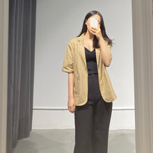 Load image into Gallery viewer, MOKA Linen Summer Jacket