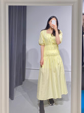 Load image into Gallery viewer, LUNA Smock Neon Dress