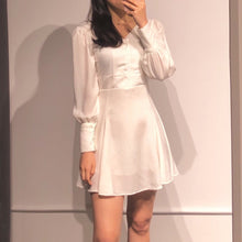 Load image into Gallery viewer, SEUL Silk Mini Dress