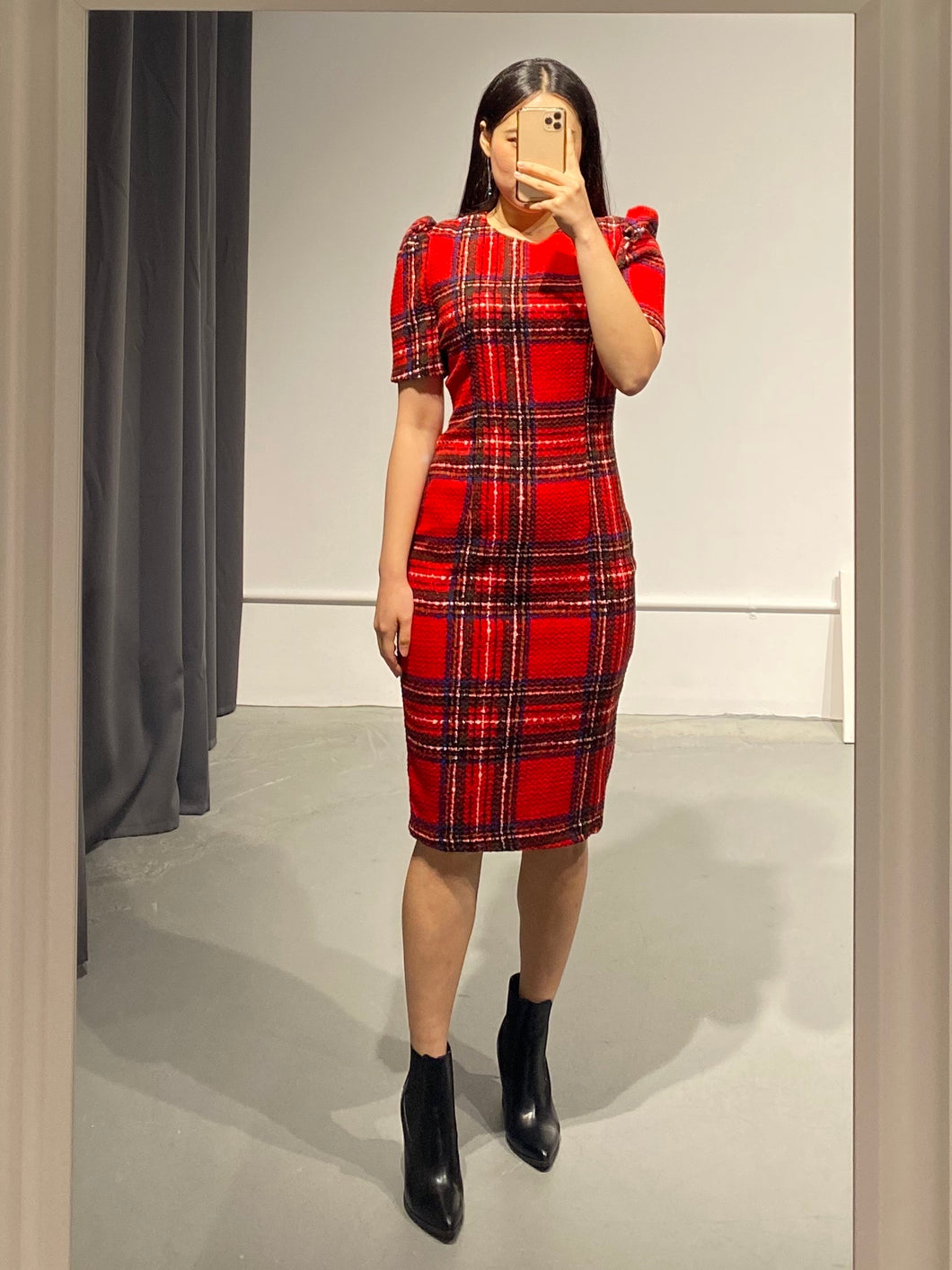 MISO Tartan Dress